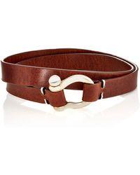 Miansai - Leather Double - Lyst
