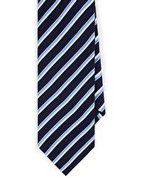 Barneys New York - Striped Silk Satin Necktie - Lyst