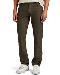 J Brand - Kane Cotton-blend Straight Trousers - Lyst