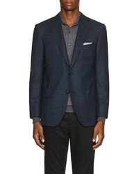 Pal Zileri - Checked Wool Two-button Sportcoat - Lyst