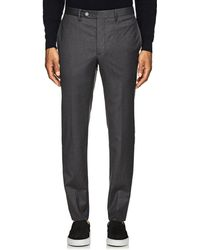 Officine Generale - Virgin Wool Tailored Trousers - Lyst