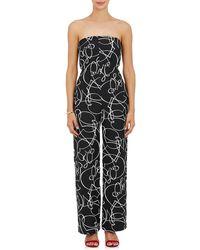 Zero + Maria Cornejo - Pia Abstract-pattern Jacquard Jumpsuit - Lyst