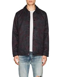 The Very Warm - Camouflage Tech-twill Coaches Jacket - Lyst