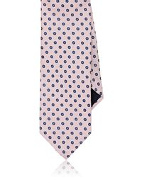 Barneys New York - Flower-dot Silk Twill Necktie - Lyst