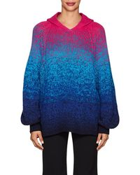SPENCER VLADIMIR - Ombré Cashmere Oversized Hoodie Size Xs/s - Lyst