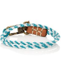 Caputo & Co. - Braided Double-wrap Bracelet - Lyst
