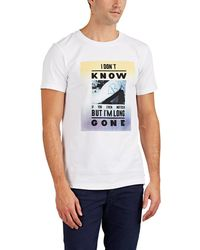 Zadig & Voltaire - Tex Bis i Don't Know Cotton T-shirt - Lyst