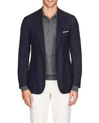 Pal Zileri - Basket-weave Wool Two-button Sportcoat - Lyst