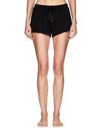 Skin - Slub Cotton Drawstring Shorts - Lyst
