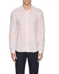 Orlebar Brown - Morton Linen Shirt - Lyst