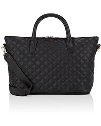 Barneys New York - Monica Leather Satchel - Lyst