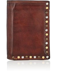 Campomaggi - Leather Folding Card Case - Lyst