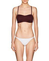 Skin - Varona Bandeau Bikini Top - Lyst