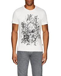 Just Cavalli Skull-print Cotton T-shirt