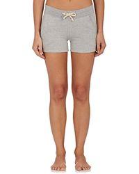 Sleepy Jones | Roberta Cotton Fleece Shorts | Lyst