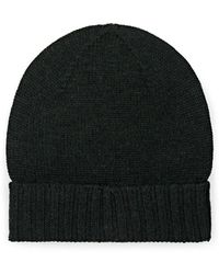 1c091aba57d Barneys New York - Rib-knit Wool Beanie - Lyst