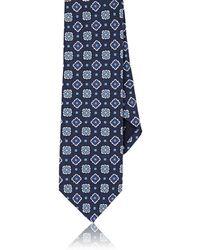 Paolo Albizzati - Square-pattern Silk Necktie - Lyst
