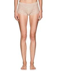 Zimmerli - Poetic Botanicals Lace & Jersey Hipster Briefs - Lyst