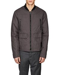 Blank NYC - Reversible Cotton Bomber Jacket - Lyst