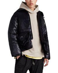 A_COLD_WALL* - Tech-taffeta Crop Puffer Jacket - Lyst