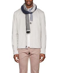 Barneys New York - Colorblocked Cashmere-blend Scarf - Lyst