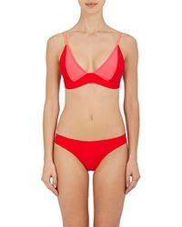 Chromat - Leyna Banded Bikini Top - Lyst