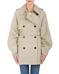Rhié - Cotton Oversized Belted Trench Coat - Lyst