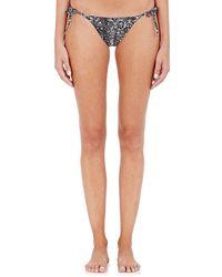 Onia - Kate Doodle-pattern String Bikini Bottom - Lyst