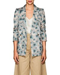 Blazé Milano - Everyday Floral Silk Blazer Size 40 Fr - Lyst