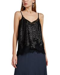 Robert Rodriguez - Sequined Lace Cami - Lyst
