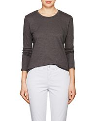 J Brand - Montara Cotton Long-sleeve T - Lyst