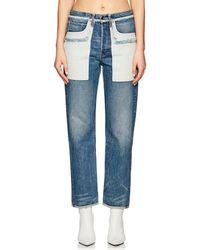 Helmut Lang - Inside Out Boyfriend Jeans - Lyst