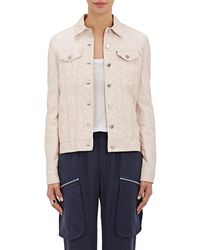 ATM - Lightweight Leather Jacket - Lyst