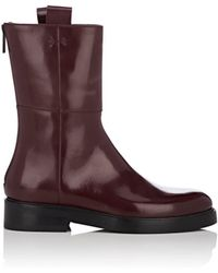 Alumnae - Leather Ankle Boots - Lyst