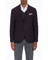 Boglioli - k Jacket Checked Cashmere-blend Two - Lyst