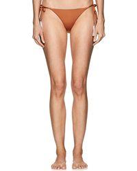 Skin - Joan Reversible String Bikini Bottom - Lyst