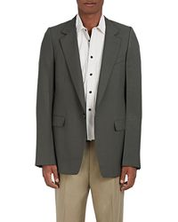 Lanvin - Wool Twill Oversized One-button Sportcoat - Lyst