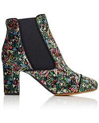 Tabitha Simmons - Micki Velvet Ankle Boots - Lyst