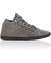 Repetto - Glitter Knit Sneakers - Lyst