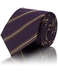 Bigi - Striped Textured-silk Necktie - Lyst