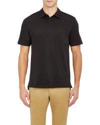 Barneys New York - Jersey Polo Shirt - Lyst