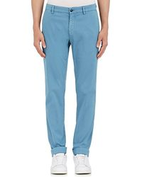 Barneys New York Corded Stretch-cotton Slim Chinos