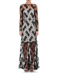 Nina Ricci - Lace Long-sleeve Gown - Lyst