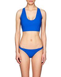 Rochelle Sara - Fabi Crop Bikini Top - Lyst