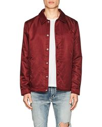 The Very Warm - Tech-twill Coaches Jacket - Lyst