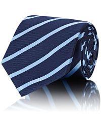 Barneys New York - Striped Silk Twill Necktie - Lyst
