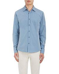 Orlebar Brown - Dunstan Cotton Twill Shirt - Lyst