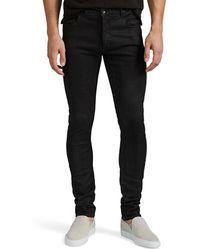 Rick Owens Drkshdw - Detroit Waxed Denim Skinny Jeans - Lyst