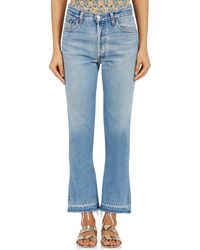 RE/DONE - Elsa Flared Levi's® Jeans - Lyst