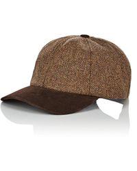 Crown Cap - Wool & Suede Baseball Cap - Lyst